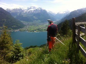 Messung mit GNSS