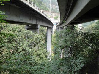 Deformationsmessung Brücke