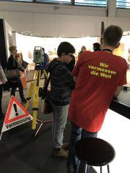 Wir vermessen die Welt an der Berufsmesse Zürich